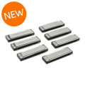 Fender Hot Rod Deluxe Harmonica - Pack of 7, with Case