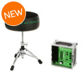Porter & Davies BC2 Drum Throne - Round Seat with BaseBC2 Drum Throne - Round Seat with Base