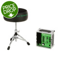 Porter & Davies BC2 Drum Throne - Round Seat with BaseBC2 Drum Throne - Round Seat with Base