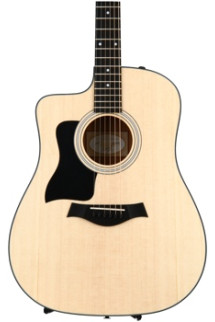 Taylor 110ce Left-handed - Layered Sapele back and sides