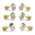 Grover 135N Vintage Tuners 3+3 - Nickel135N Vintage Tuners 3+3 - Nickel