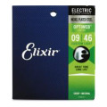 Elixir Strings Optiweb Electric Guitar Strings - .009-.046 Custom Light