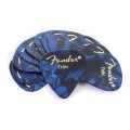 Fender Accessories 351 Premium Guitar Picks - Thin Blue Moto - 12-Pack351 Premium Guitar Picks - Thin Blue Moto - 12-Pack