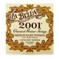 La Bella 2001 Classical Guitar Strings - Medium-hard Tension