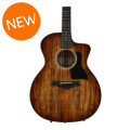 Taylor 224ce Deluxe Koa Grand Auditorium - Shaded Edgeburst224ce Deluxe Koa Grand Auditorium - Shaded Edgeburst