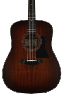 Taylor 320e Dreadnought Acoustic-Electric - Shaded Edgeburst