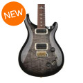 PRS 408 10-Top - Charcoal Burst with Pattern Neck408 10-Top - Charcoal Burst with Pattern Neck