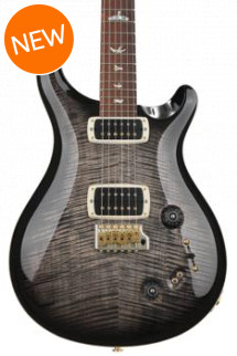 PRS 408 10-Top - Charcoal Burst with Pattern Neck