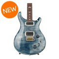 PRS 408 10-Top - Faded Whale Blue with Pattern Neck408 10-Top - Faded Whale Blue with Pattern Neck