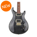 PRS 408 10-Top - Gray Black with Pattern Regular Neck408 10-Top - Gray Black with Pattern Regular Neck