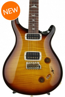 PRS 408 10-Top - McCarty Tobacco Sunburst with Pattern Neck