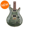 PRS 408 10-Top - Trampas Green with Pattern Neck