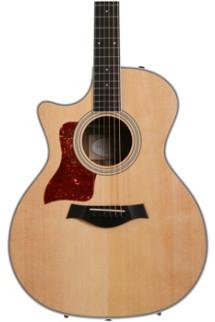 Taylor 414ce Left-handed - Ovangkol back and sides