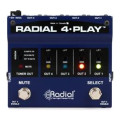 Radial 4-Play 4-channel Output, Instrument Direct Box4-Play 4-channel Output, Instrument Direct Box