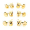 Grover Roto-Grip Locking Rotomatic Tuners - 3+3 - Gold