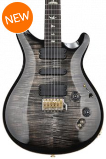 PRS 509 10-Top - Charcoal Burst with Pattern Regular Neck