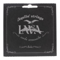 Aquila USA 116U Low D Baritone Uke Set - Wound D-G, Lava Nylgut B-E