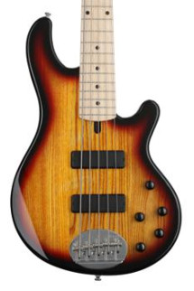 Lakland Skyline 55-01 Standard - 3-Tone Sunburst with Maple Fretboard