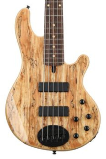 Lakland Skyline 55-01 Deluxe - Spalted Maple with Rosewood Fretboard