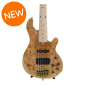 Lakland 55-94 Deluxe, Exotic Top - Maple Burl with Maple Fingerboard