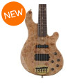 Lakland 55-94 Deluxe, Exotic Top - Maple Burl with Rosewood Fingerboard