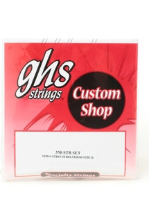 GHS Super Steel Extra Long Scale Bass Strings - Medium 5-String .044-.126