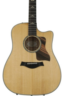 Taylor 610ce Dreadnought - Brown Sugar Stain