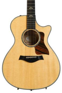Taylor 612ce Grand Concert - Brown Sugar Stain