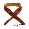 Taylor Suede Guitar Strap - Chocolate