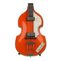 Hofner '62 Custom Shop Violin Bass, Sweetwater Custom - Orange'62 Custom Shop Violin Bass, Sweetwater Custom - Orange
