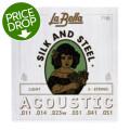 La Bella 710L Silk & Steel Acoustic Guitar Strings - Light710L Silk & Steel Acoustic Guitar Strings - Light