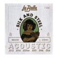 La Bella 710M Silk & Steel Acoustic Guitar Strings - Medium