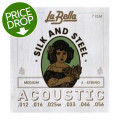 La Bella 710M Silk & Steel Acoustic Guitar Strings - Medium710M Silk & Steel Acoustic Guitar Strings - Medium