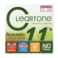 Cleartone 7411 EMP Phosphor Bronze Acoustic Guitar Strings - .011-.052 Custom Light