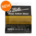 La Bella Deep Talkin' Bass Gold Flats Electric Bass Strings - 5-stringDeep Talkin' Bass Gold Flats Electric Bass Strings - 5-string