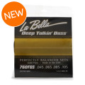 La Bella Deep Talkin' Bass Gold Flats Electric Bass Strings - 4-stringDeep Talkin' Bass Gold Flats Electric Bass Strings - 4-string