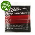 La Bella 760FL-B Deep Talkin' Bass Flatwound Bass Strings - Light 5-string