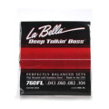 La Bella 760FL Deep Talkin' Bass Flatwound Bass Strings - Light760FL Deep Talkin' Bass Flatwound Bass Strings - Light