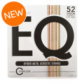 Cleartone EQ Acoustic Guitar Strings - .011-.052 Custom LightEQ Acoustic Guitar Strings - .011-.052 Custom Light