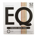 Cleartone EQ Acoustic Guitar Strings - .011-.052 Custom Light