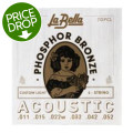 La Bella 7GPCL Phosphor Bronze Acoustic Guitar Strings - Custom Light7GPCL Phosphor Bronze Acoustic Guitar Strings - Custom Light
