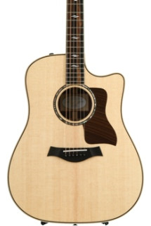 Taylor 810ce - Natural, Cutaway, with ES2