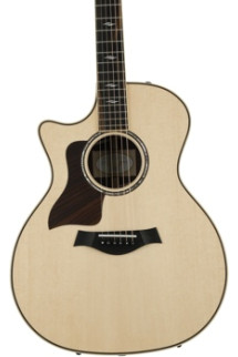 Taylor 814ceLH Left-handed - Rosewood back and sides
