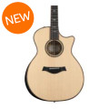 Taylor Limited Edition Blackheart Sassafras/Sitka Spruce 914ce - Natural