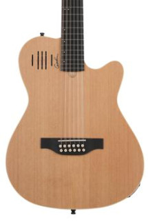 Godin A12 12-string Acoustic-electric Guitar - Natural Semi-gloss