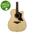 Yamaha A1M Dreadnought Acoustic Electric with Cutaway - Mahogany Back and SidesA1M Dreadnought Acoustic Electric with Cutaway - Mahogany Back and Sides
