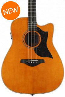 Yamaha A5M Dreadnought Acoustic-Electric with Cutaway - Vintage Natural