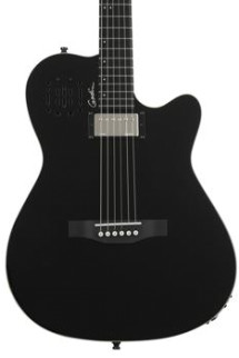Godin A6 Ultra - Black High-gloss