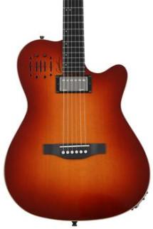 Godin A6 Ultra Acoustic Electric - Cognac Burst Hi-Gloss