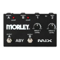 Morley ABY MIX 2-Button Signal Combiner PedalABY MIX 2-Button Signal Combiner Pedal